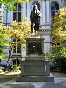 Boston is not lacking in monuments to just about every historical figure in your elementary history books.